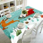 3d Santa Claus 52 Tablecloth Table Cover Cloth Birthday Party Event Aj Wallpaper