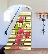 3d Roses Frames 28 Stairs Risers Decoration Photo Mural Vinyl Decal Wallpaper Us