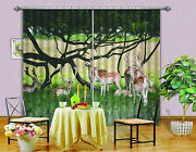 3d Lawn Deer 33 Blockout Photo Curtain Printing Curtains Drapes Fabric Window Ca