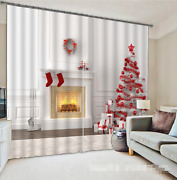 3d Christmas 58 Blockout Photo Curtain Printing Curtains Drapes Fabric Window Ca