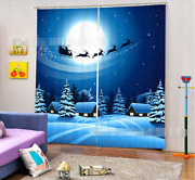 3d Christmas 54 Blockout Photo Curtain Printing Curtains Drapes Fabric Window Ca