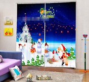 3d Christmas 68 Blockout Photo Curtain Printing Curtains Drapes Fabric Window Ca