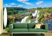 3d Spectacular Waterfall Wall Paper Wall Print Decal Deco Indoor Wall Murals
