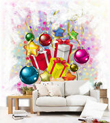 3d Christmas Prrety Gifts 121 Wall Paper Wall Print Decal Wall Deco Indoor Wall