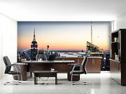 3d Tall Building City 7672 Wall Paper Wall Print Decal Wall Deco Indoor Wall
