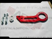 Brand New Datum1 Rear Tow Hook Red Aluminum For Civic Delsol Integra Rsx