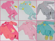 Nwt Girls Footed Pajamas Cotton Or Terry 3m 6m 9m 18m 2t U Pick Carters