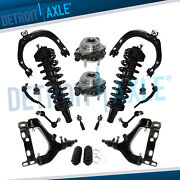 18pc Front Control Arms Strut Assembly For Chevy Trailblazer Gmc Envoy 6 Lug Abs