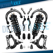 16pc Front Upper Lower Strut Control Arms Kit For Chevy Trailblazer Gmc Envoy
