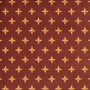 Star Trellis Red Pattern Indoor 26 Oz Stainmaster Nylon Cut Pile Area Rug