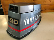 89 Yamaha 40 50 Hp 2 Stroke Outboard Motor Top Cowl Cover Hood Freshwater Mn