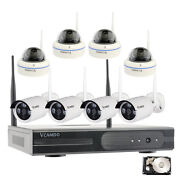 8ch 1080p/2mp Outdoor Wireless Cctv Home Security Camera System With Hard Drive