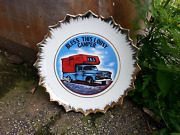 Vintage 1960 Chevy Apache Truck With Cab Over On Bless This Lousy Camper Plate