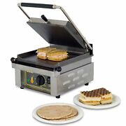 Equipex Savoy, 13-inch Countertop Single Electric Panini Grill, Culus, Nsf 120 V