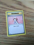 Pokemon 1999 Wizards Base Set Trainer Card Bill 91/102 Shadowless With 1995, 9