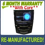 Refurbished Cadillac Cue Nav Radio Touch Screen Display Unit With Heated Seats