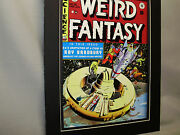 Weird Fantasy 18 Comic Book Poster Comic From First Nyc Comic Con 1968