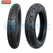 Front + Rear Motorcycle Tires 90/90-18 And 130/90-15