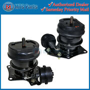 Mtc Front Engine Mount 2pcs Set For 1995-1998 Acura Tl 2.5l Hydraulic And Vacuum