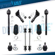 Inner Outer Tie Rod Set Sway Bar Links Lower Ball Joints Sport Trac Explorer