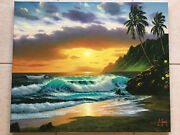 Anthony Casay And039sunset Dreamand039- Sold Out S/n Giclee 44/200-hawaii Seascape