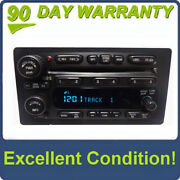 03 06 Gmc Chevrolet Oem Factory Rds Stereo Am Fm Radio 6 Disc Changer Cd Player