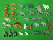 Britains And Other Brands Zoo Animals, Large Circus Set
