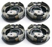 2 Pairs New 10 X 2-1/4 Electric Trailer Brake Assembly 3500 Lbs Axle -21003