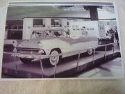1955 Ford Convertible Auto Show Display 11 X 17 Photo  Picture