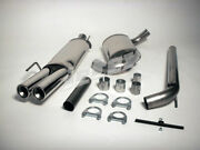 Vw Golf Mk3 Gti Vr6 Jetex 2.5 Cat Back Exhaust System Non Res Twin Tail Pipes