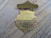 1896 Republican National Convention Presidential Election St Louis Mo Pin Badge