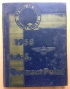 1958 United States Naval Air Station Navy Yearbook, Nas Quonset Point, Ri