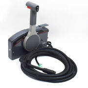 High Quality Outboard Remote Control Box 10pin Cable Right 17 Feet Side Throttle