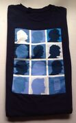 Dr. Who Tv Show 50th Anniversary Shirt, Size Xl, Blue, New Without Tags, Nwot