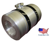 Spun Aluminum Gas Tank 2.5 Gallon - Baffle And Vent Tube - Motorcycle Auxiliary