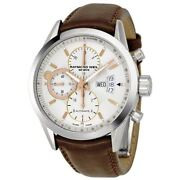 Raymond Weil Freelancer White Dial Chronograph Automatic Men's Watch 7730-stc-65