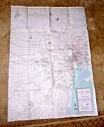 Map Central Tokyo Japan Military Routes Army Control Facilities English Names 51