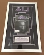 Sports Illustrated Signed 1988 Muhammad Ali Today Boxing Mma Ufc No Label