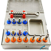 Dental Surgical Drills Kit / Drivers / Implants Surgical Instruments Ce 16 Pcs