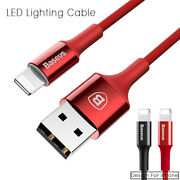 Baseus Led Lighting Usb Cable For Iphone 5 6 7 Quick Charger Cable For Iphone Ip