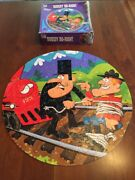 Vintage 1975 Jigsaw Puzzle 125 Piece Round Dudley Do-right Puzzle Whitman 4426