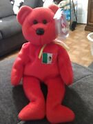 Ty Beanie Baby Osito - Mwmt Bear Mexico Us Country Exclusive 1999