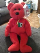 Ty Beanie Baby Osito - Mwmt Bear Mexico Us Country Exclusive 1999.