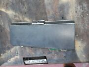72-89 Mercedes 350 450 Sl Slc Black Glove Box Door With Lock And Leather Trim