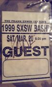 Autographed Backstage Pass 1999 By Kane Received When I Was A Kid.
