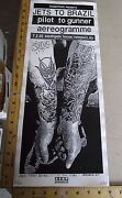 2002 Rock Roll Concert Poster Jets To Brazil Print Mafia S/n Le 40 Newport Ky