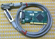 National Instruments Pci-gpib Ieee 488.2 Card 188513c-01 W/ Cable 1294