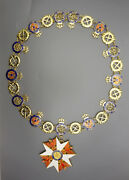 German Prussian Grand Cross Of The Order Of The Red Eagle Without Swords Collar