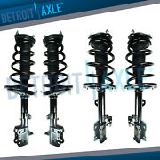 Front And Rear Quick Struts Shocks For 2008 2009-2013toyota Highlander Awd