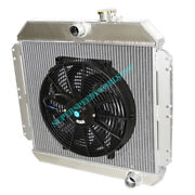 Aluminum Racing 3 Row Radiator+14 Fans Fits 49-52 Chevy Styleline V8 Mt